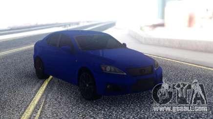 Lexus IS-F Sedan for GTA San Andreas