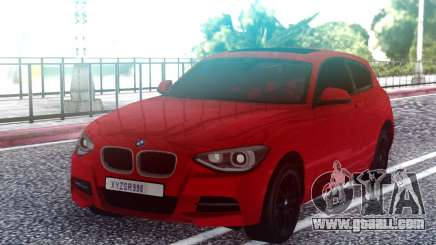 BMW M135i Red for GTA San Andreas