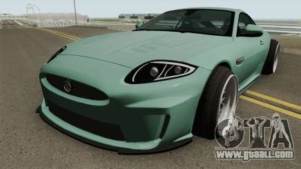 Jaguar XKR-S Stance for GTA San Andreas