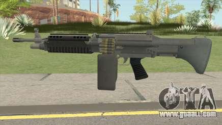 Combat MG (Extended Mag) GTA V for GTA San Andreas