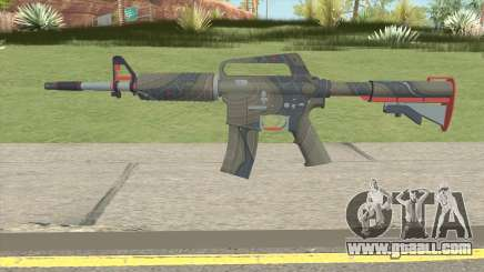 CS:GO M4A1 (Brifing Skin) for GTA San Andreas