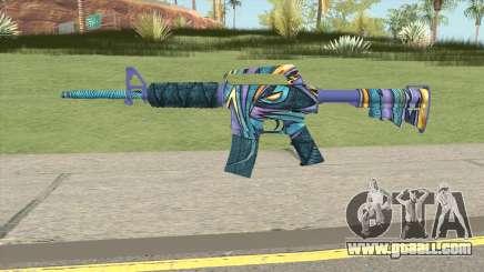 CS:GO M4A1 (Mobius Skin) for GTA San Andreas