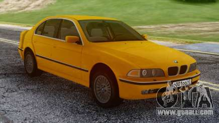 BMW E39 530d Yellow for GTA San Andreas