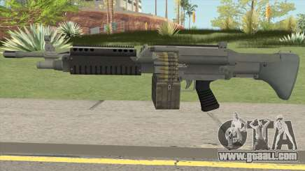 Combat MG (Default Mag) GTA V for GTA San Andreas