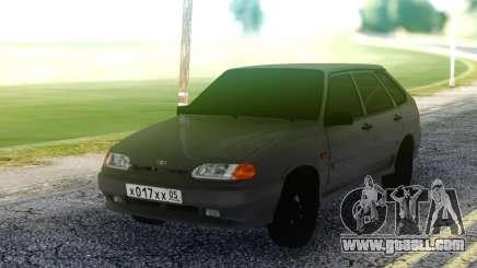 VAZ 2114 Grey Hatchback for GTA San Andreas