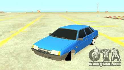 VAZ 21099 Blue for GTA 4