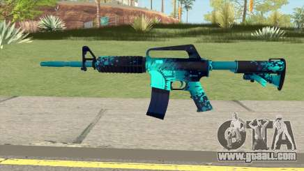 CS:GO M4A1 (Icarus Skin) for GTA San Andreas