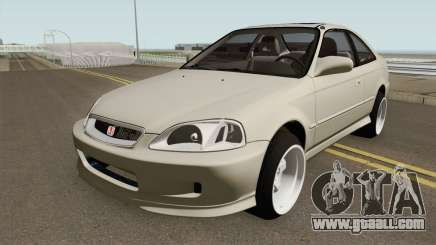 Honda Civic 99 Swap K20Z3 for GTA San Andreas
