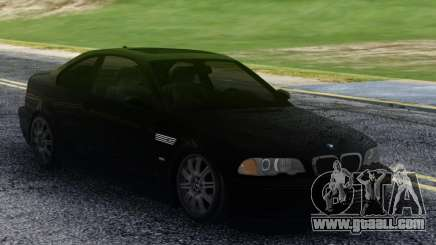 BMW M3 Black Coupe for GTA San Andreas