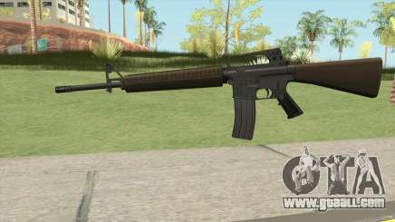 M16A2 Partial Desert Camo (Ext Mag) for GTA San Andreas