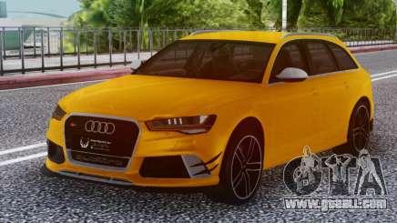 Audi RS6 Welow for GTA San Andreas