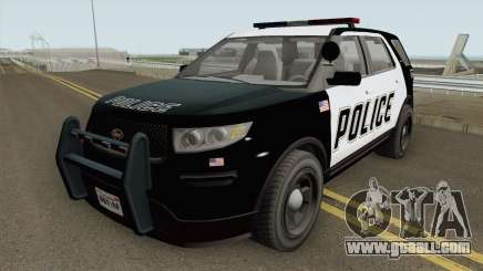 Vapid Police Cruiser Utility GTA V IVF for GTA San Andreas