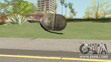 Insurgency MIC RGD-5 Grenade for GTA San Andreas