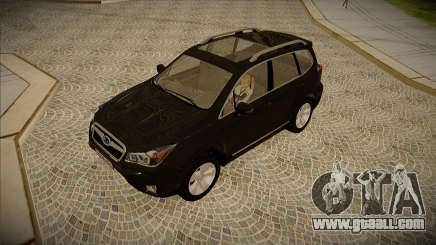 Subaru Forester 2014 XT for GTA San Andreas