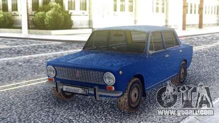 VAZ 2101 Blue Sedan for GTA San Andreas