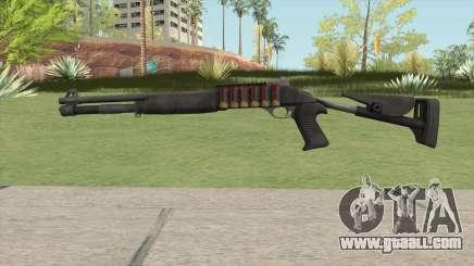 Benelli M4 Default Design for GTA San Andreas