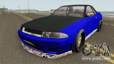 Annis Elegy Custom GTA V for GTA San Andreas