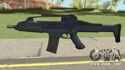 XM8 Compact V2 Blue for GTA San Andreas