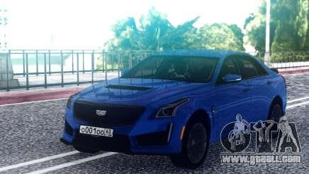 Cadillac CTS-V Blue for GTA San Andreas