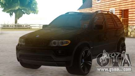 BMW X5 SUV for GTA San Andreas