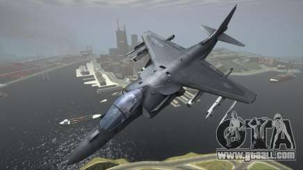 Boeing AV-8B Harrier II Plus for GTA San Andreas