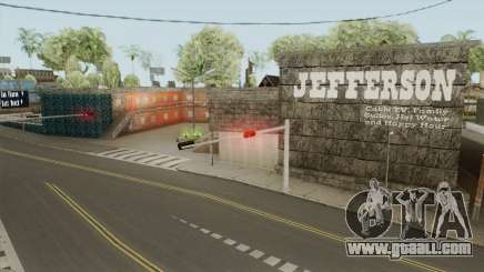 Jefferson ReTexture for GTA San Andreas