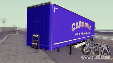 Carbone Trailer for GTA San Andreas