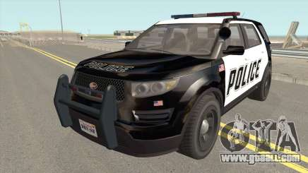 Vapid Police Cruiser Utility GTA V for GTA San Andreas