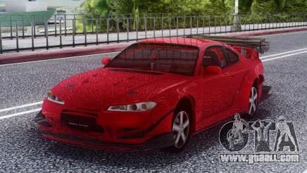 Nissan Silvia S15 RED for GTA San Andreas
