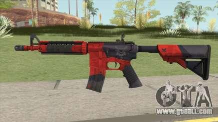 CS-GO M4A4 Evil Daimyo for GTA San Andreas