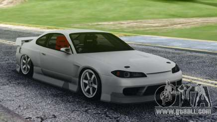 Nissan Silvia S15 White Sport for GTA San Andreas