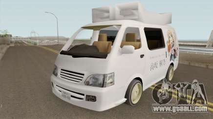 Toyota Hiace 2004 (Anime Gaisensha) for GTA San Andreas