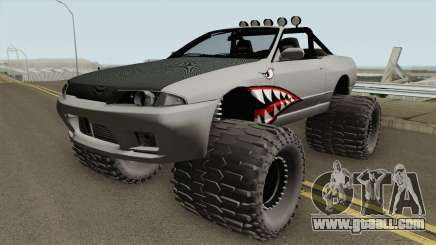 Nissan Skyline R32 Cabrio Off Road Shark for GTA San Andreas