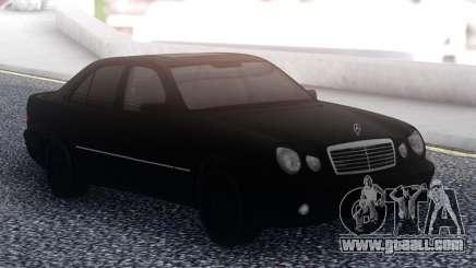 Mercedes-Benz E55 Black Sedan for GTA San Andreas