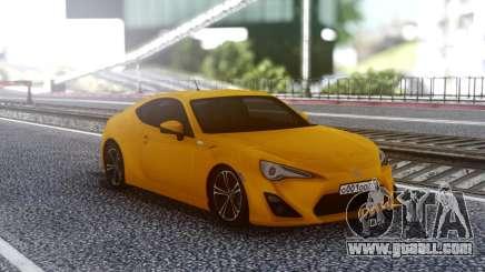 Toyota 86 for GTA San Andreas