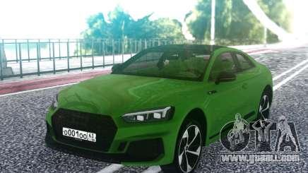 Audi RS5 2018 for GTA San Andreas