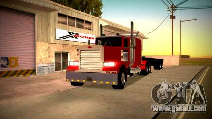 Peterbilt 359 SA Style for GTA San Andreas