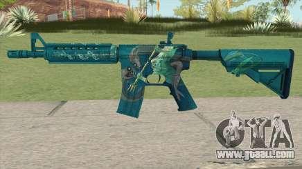 CS-GO M4A4 Poseidon for GTA San Andreas