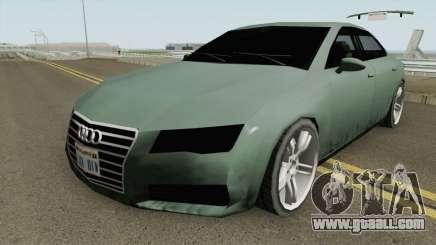 Audi A7 (SA Style) for GTA San Andreas