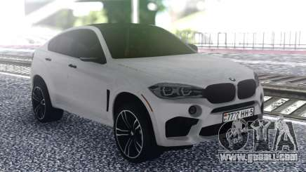 BMW X6 White for GTA San Andreas