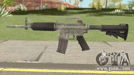 CS:GO M4A1 (Basilisk Skin) for GTA San Andreas