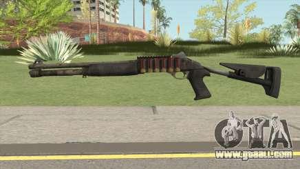 Benelli M4 SEALs Desert  Camo for GTA San Andreas