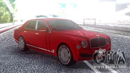 Bentley Mulsane for GTA San Andreas