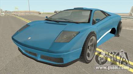 Infernus GTA IV for GTA San Andreas
