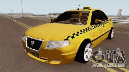 IKCO Samand Soren Taxi for GTA San Andreas