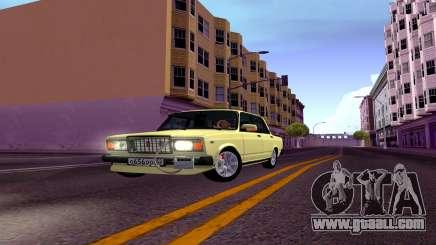 2107 Combat Classic Sedan for GTA San Andreas
