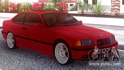 BMW M3 E36 Stock Red for GTA San Andreas