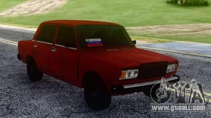 2107 Tinted for GTA San Andreas