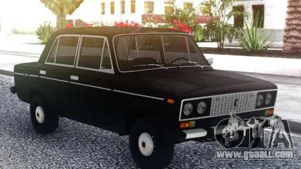 VAZ 2106 DRAIN Black for GTA San Andreas