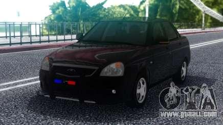 Lada Priora Police Lights for GTA San Andreas